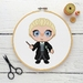 Draco Malfoy Cross Stitch Kit