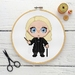 Lucius Malfoy Cross Stitch Kit