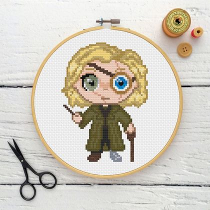 Mad-Eye Moody Cross Stitch Kit