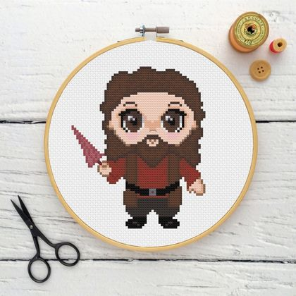 Rubeus Hagrid Cross Stitch Kit
