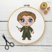 Remus Lupin Cross Stitch Kit