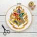 Hogwarts Crest Cross Stitch Kit