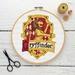 Gryffindor House Crest Cross Stitch Kit