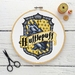 Hufflepuff House Crest Cross Stitch Kit