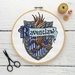 Ravenclaw House Crest Cross Stitch Kit