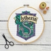 Slytherin House Crest Cross Stitch Kit