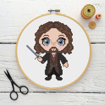 Aragorn/Strider Cross Stitch Kit  |  Lord of the Rings