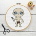 Gollum Cross Stitch Kit  |  Lord of the Rings