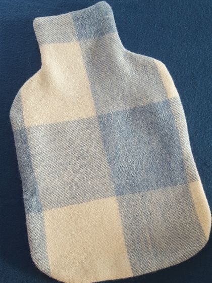 Upcycled Hot Water Bottle Cover