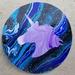 Acrylic Pour Patch - Unicorn