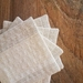 Linen Coasters - hand quilted