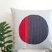 Red and Grey cushion cover