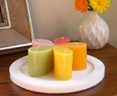 Scented mini teardrop candles � set of five