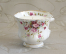 FeltAid  |  Honeysuckle and Jasmine scented soy teacup candle - Royal Albert 'Cottage Garden'