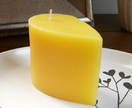 Frangipani scented small teardrop candle
