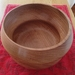 Bedroom, Lounge or Kitchen wood bowl