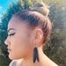 Black stilt/ Kakī earrings